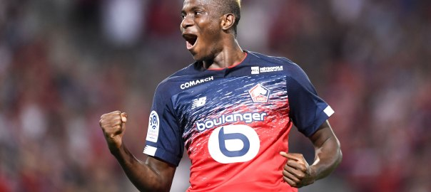 Victor Osimhen [PHOTO CREDIT: @Ligue1_ENG]
