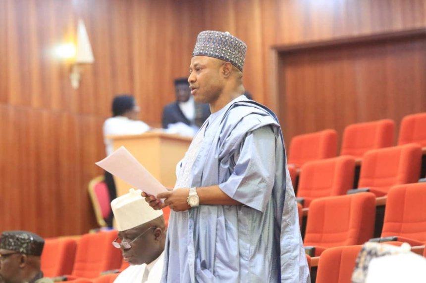 Senator Uba Sani [PHOTO CREDIT: @IsaOzo]
