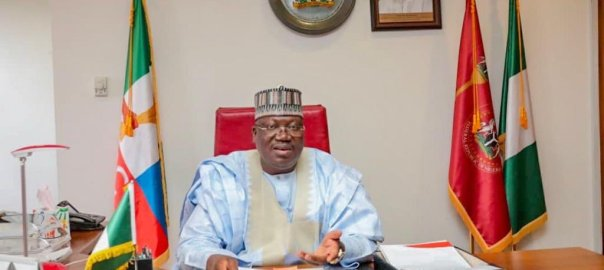Ahmad Ibrahim Lawan [PHOTO CREDIT: @DrAhmadLawan]
