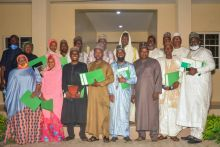 Kano state selection committee for the Special Public Works in a group photograph