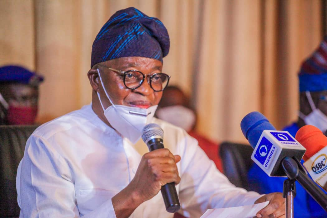 Oyetola signs Osun's reduced 2020 budget - Premium Times