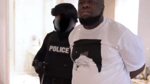 "RAMON OLORUNWA ABBAS, aka ""Ray Hushpuppi, arrested by Dubai Police"
