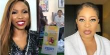 L-R Lala, Regina Daniels and Monalisa Chinda-Coker
