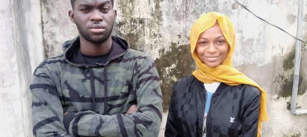 Lamina Hamzat Ajibola and Adewale Adedamola Rukayat