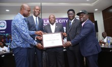 Organisers of the Access Bank Lagos City Marathon celebrating the Silver Label for the Lagos race while expecting another upgrade from the world body