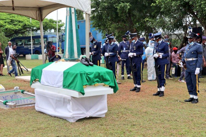 First Nigerian female combat pilot buried in Abuja as Senate ...
