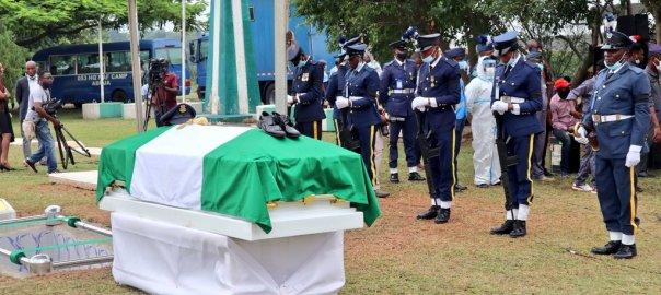 Tolulope Arotile's Funeral