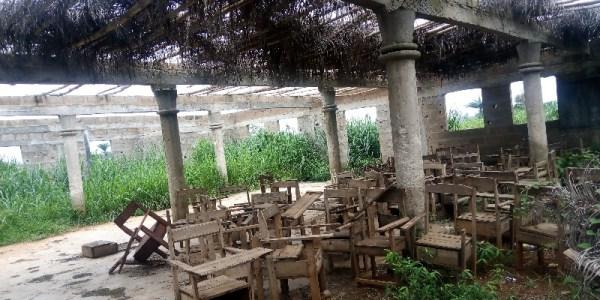 Unfinished Multipurpose Hall under shambles