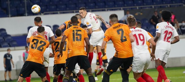 Sevilla - Wolverhampton Wanderers (PHOTO CREDIT: Twiiter @SevillaFC)