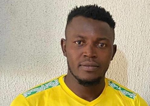 Bashir after signing for Kwara United