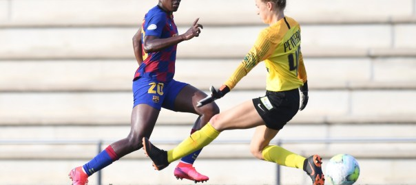 Asisat Oshoala [PHOTO CREDIT: @FCBfemeni]