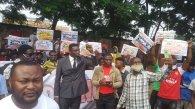 #RevolutionNow Abuja team [PHOTO CREDIT: @YeleSowore]