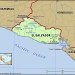 Map of El Salvador [PHOTO: Britanica]
