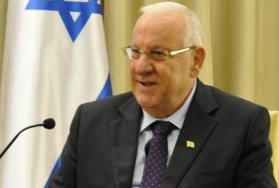 Isreal's president [Photo Credit: Reuven Rivlin@twitter]