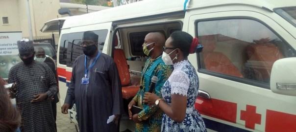 OSIWA Donates Ambulance To Aid Yobe's COVID-19 Response