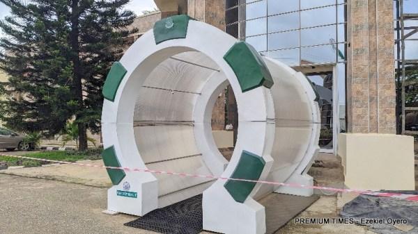 COVID-19 Tunnel