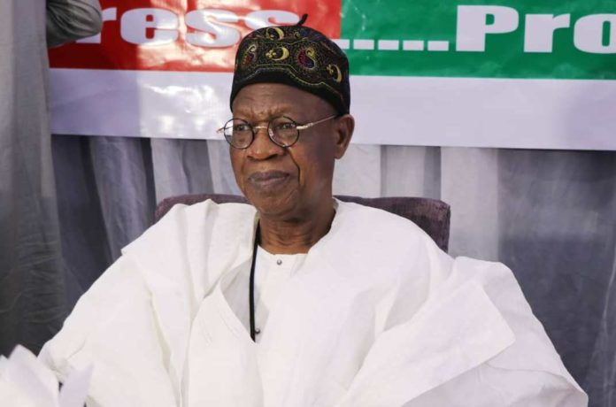Minister of Information and Culture, Lai Mohammed [PHOTO CREDIT: FMIC Website]