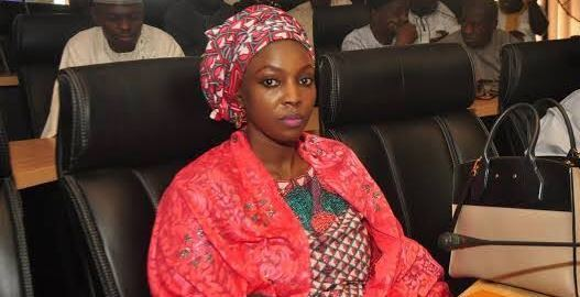 Maimuna Abubakar [PHOTO: NIPOST]
