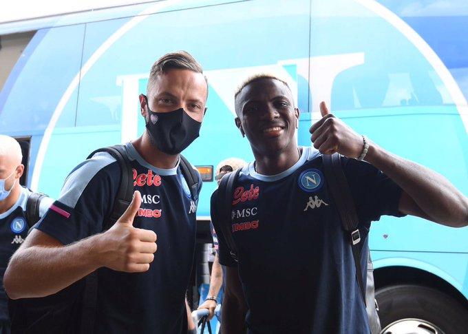 Osimhen Begins Pre Season Training With Napoli Premium Times Nigeria