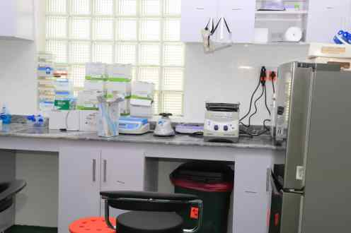 Gombe molecular lab begins testing for Covid-19 [Credit: Gombe State Media Office]
