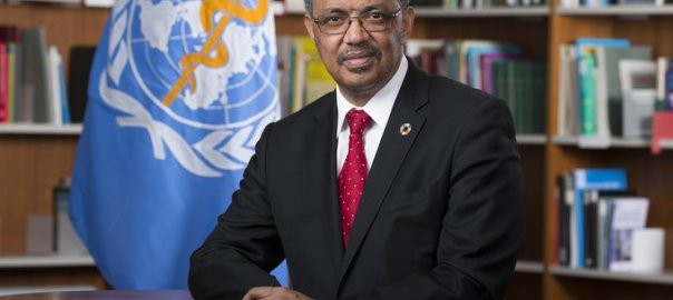 WHO Director-General Tedros Ghebreyesus [PHOTO CREDIT: @WHO]