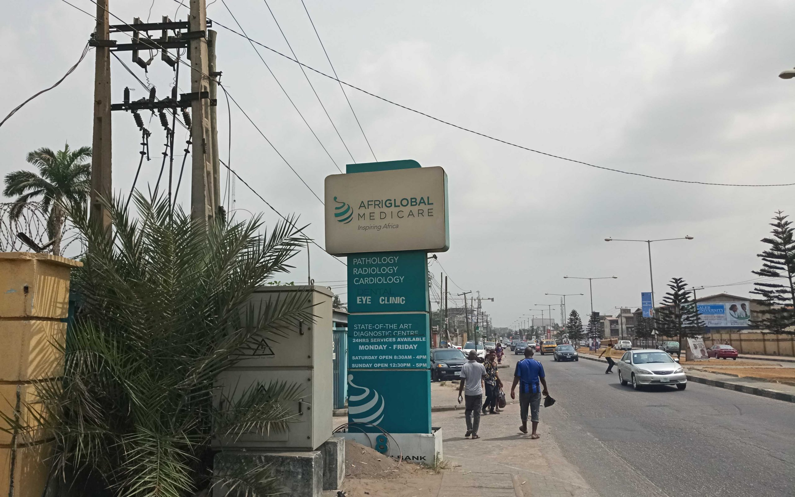 Picture of Afriglobal's head office in Ikeja