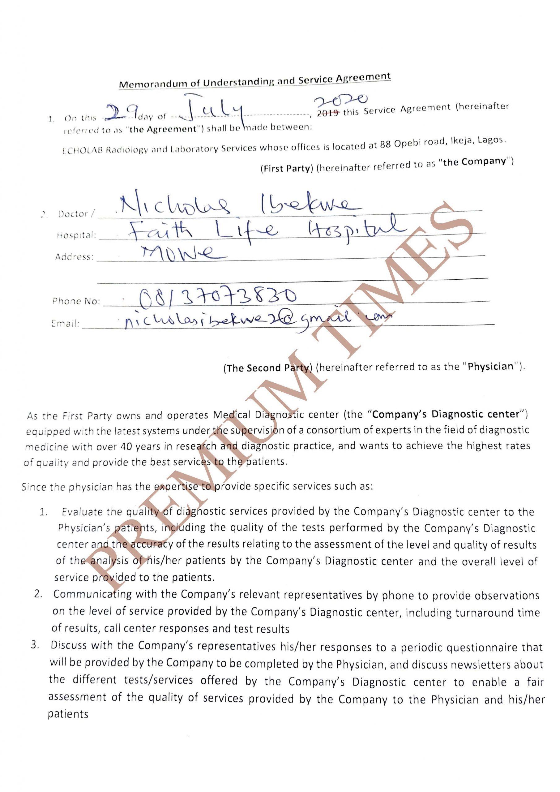 EchoLab Memorandum of Understanding (Page_1)