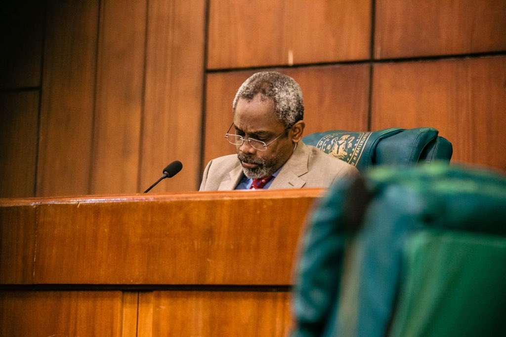 Speaker of the House of Representatives, Femi Gbajabiamila. [PHOTO CREDIT: Official Twitter account of the Speaker]