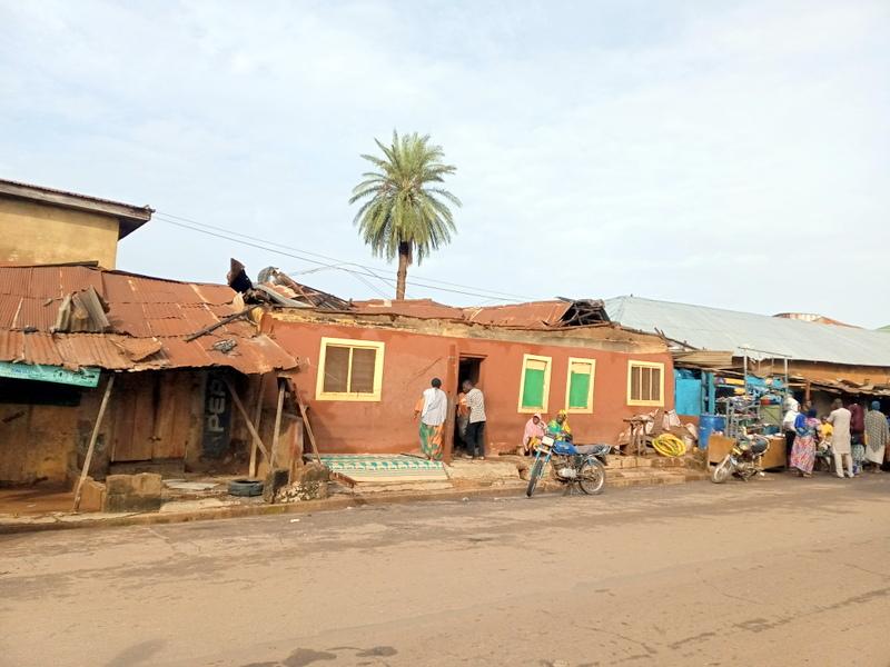 Rain Destroys Houses in Ilorin