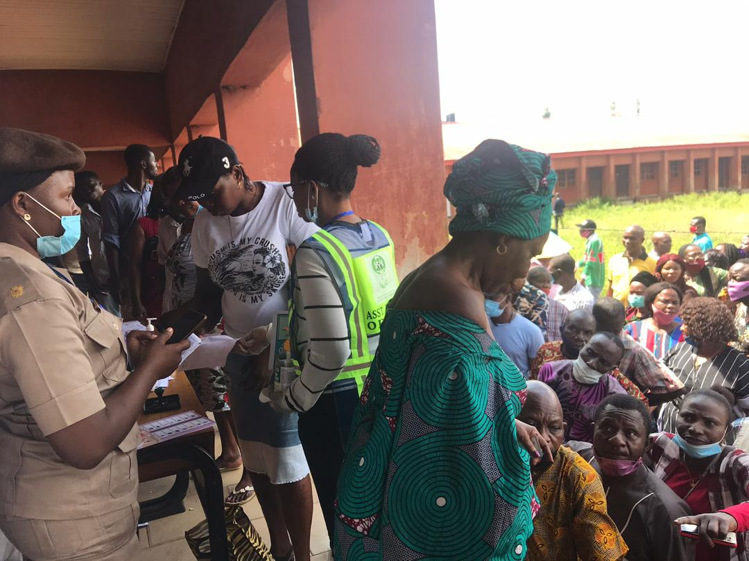 Election held in a Polling Unit