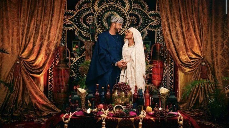 PHOTOS: Buhari's daughter weds Fashola's aide in Aso Rock