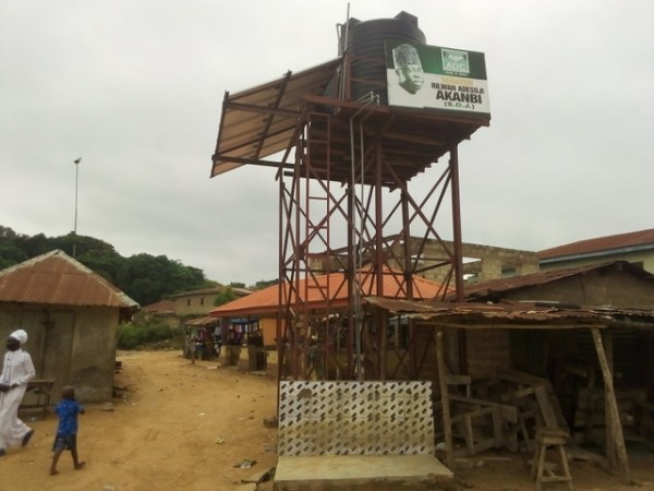 Non-functioning borehole project at Lanlate