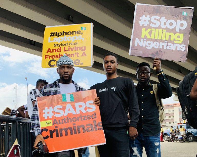 EndSARS: Nigerians in diaspora speak against police brutality