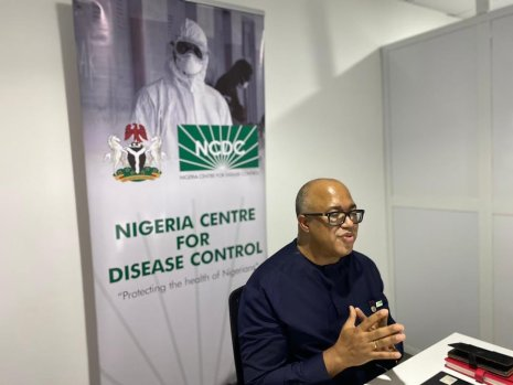 Chikwe Ihekweazu, Director-General of the Nigeria Centre for Disease Control (NCDC) [PHOTO: @NCDCgov]