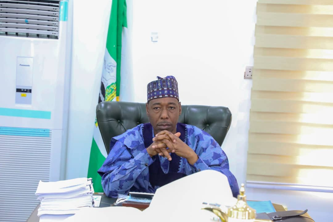 Gov Zulum wants 'political solution' to Boko Haram crisis