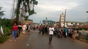 #EndSARS: Protesters occupy Ibadan major roads