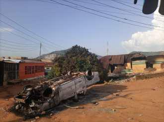 Dutse-makaranta incident scene