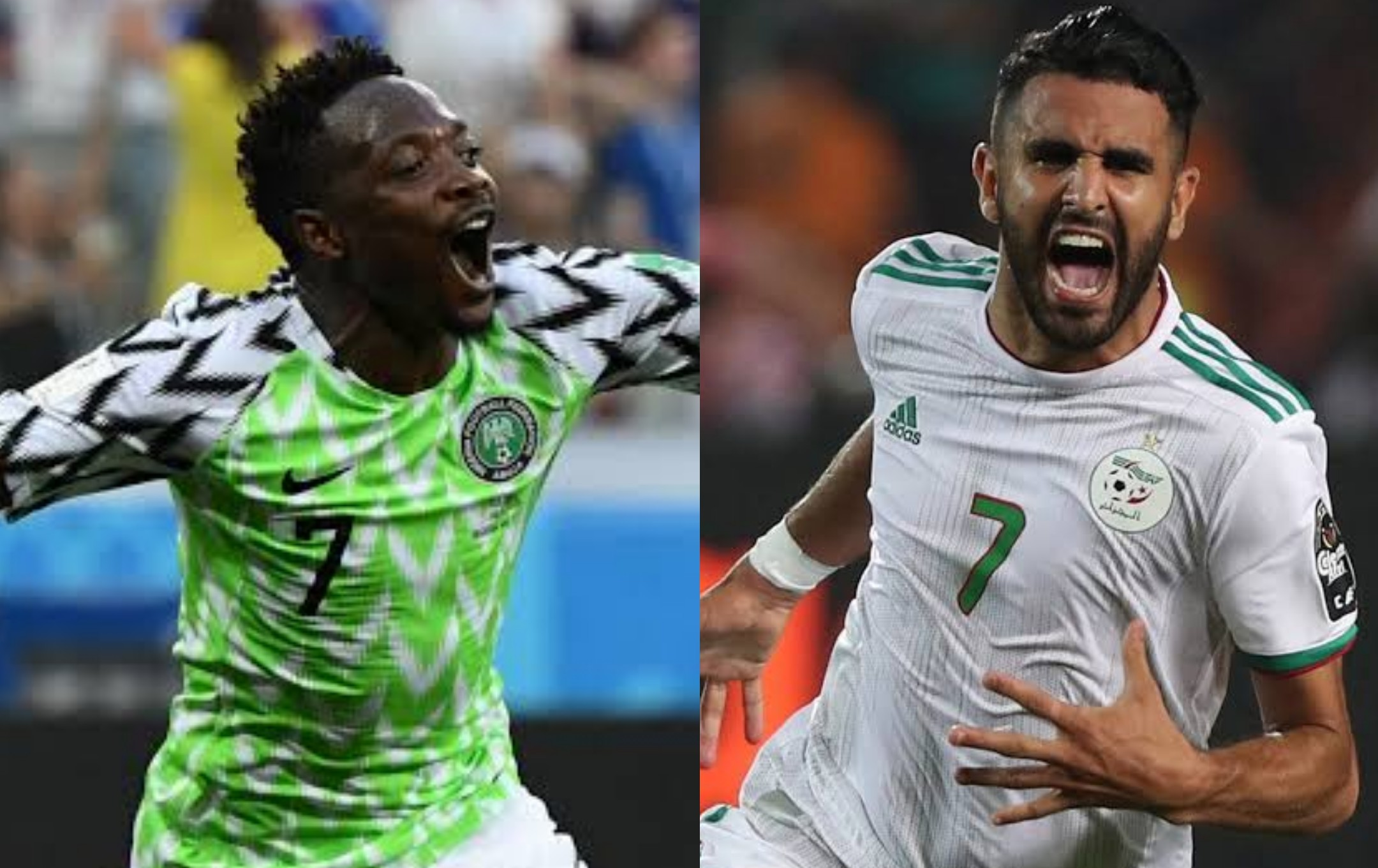 International friendly: Nigeria, Algeria battle for supremacy