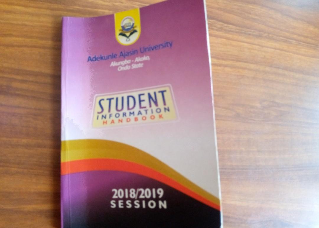 Students handbook
