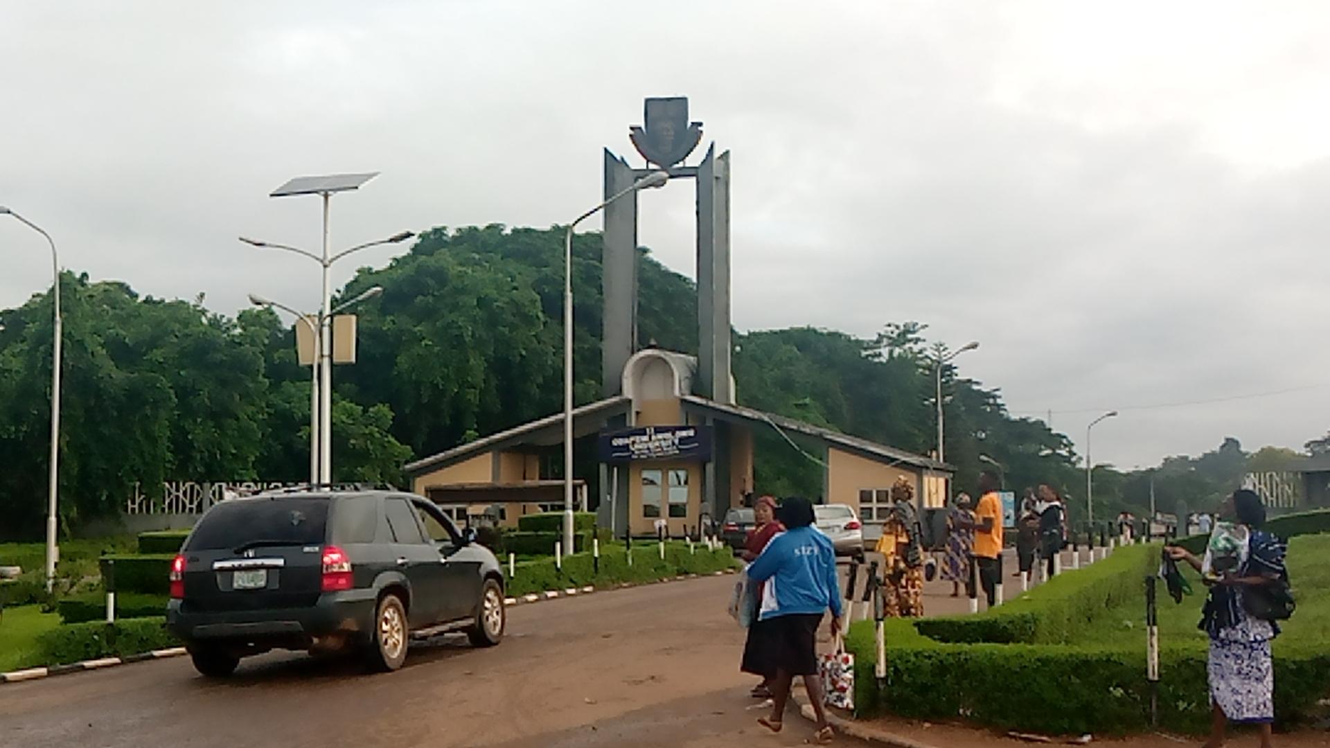 OAU campus gate