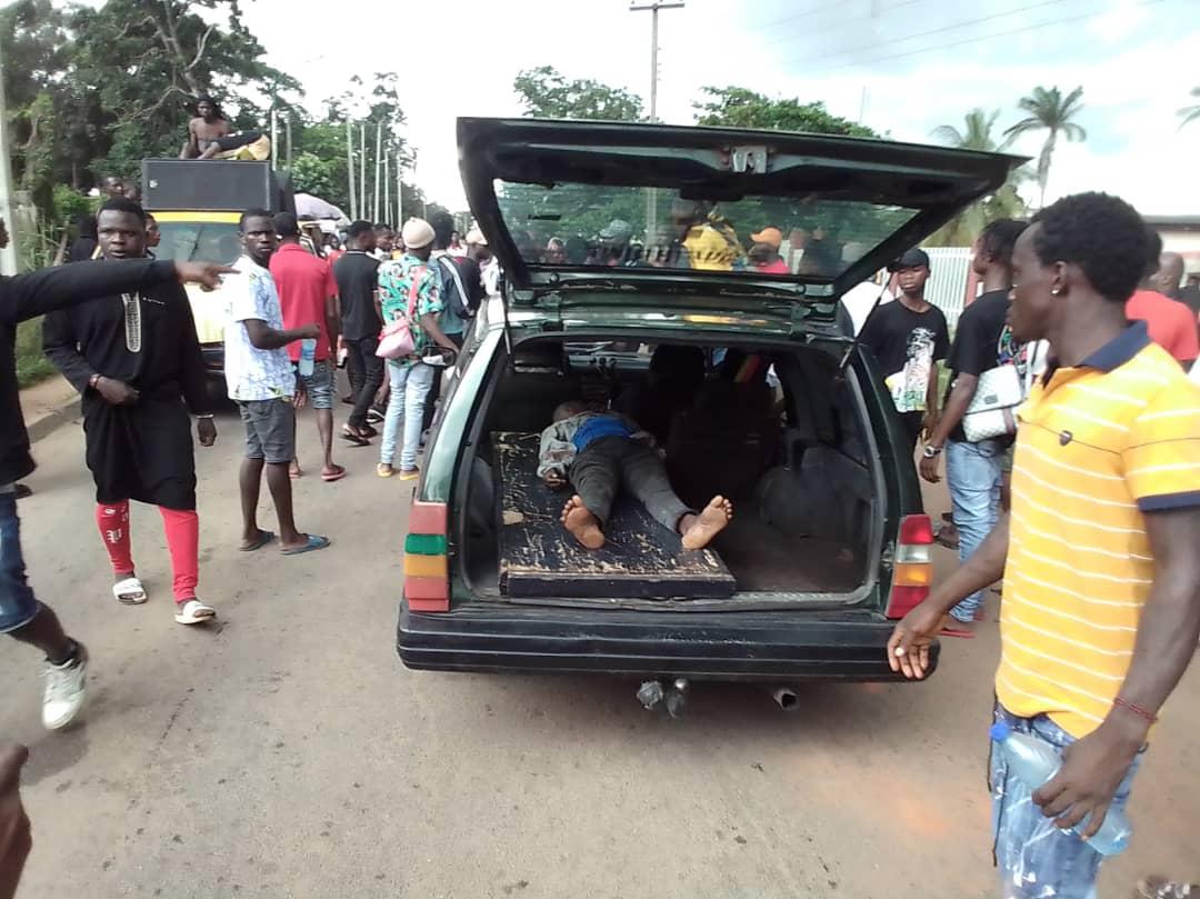 Violent Edo protest on Friday