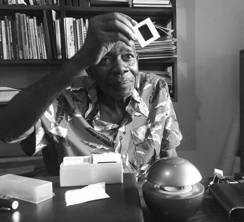 Tam Fiofori, 78, a renowned Nigerian documentary photographer and filmmaker