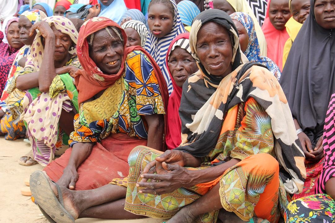 Internally Displaced Persons (IDPs) undergoing screening