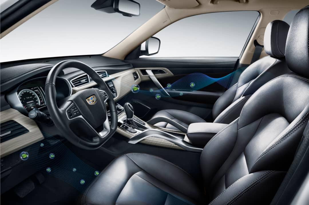 Geely Automative [PHOTO CREDIT: www.geely.ng]