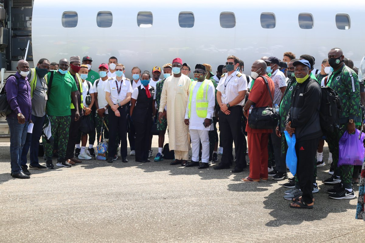 Eagles leaving for Sierra Leone