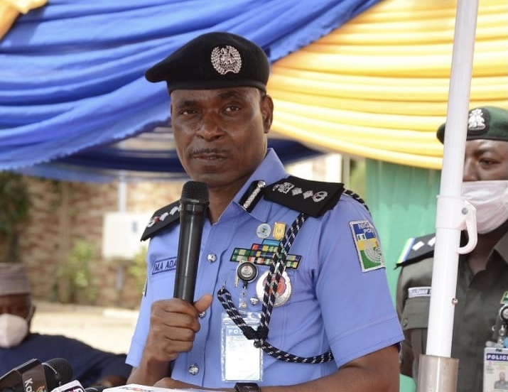 Inspector General of Police, Mohammed Adamu. [PHOTO CREDIT: Twitter handle of the Police]