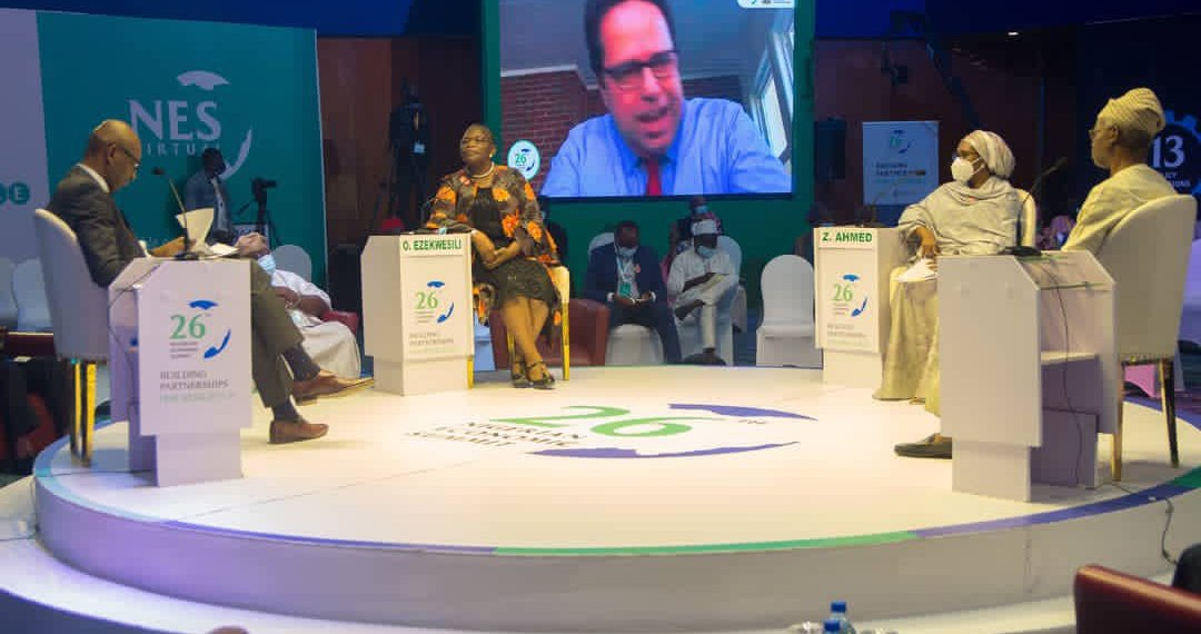 Panelists at #NES26 Day 1 [PHOTO: @officialNESG]