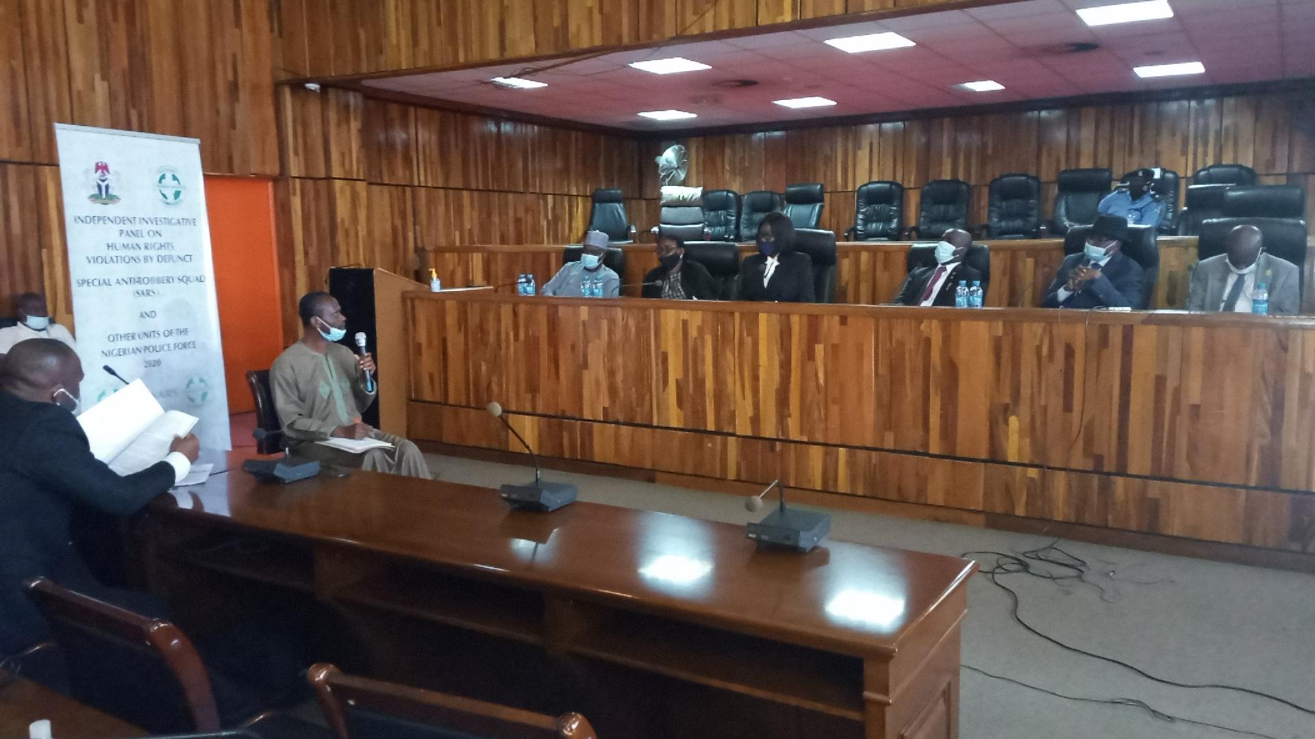 Abuja investigative panel sitting