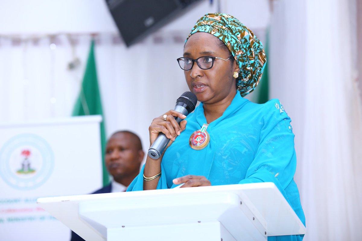 Minister of Finance, Zainab Ahmed 1