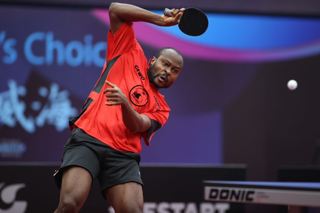 Quadi Aruna [Photo courtesy ITTF]